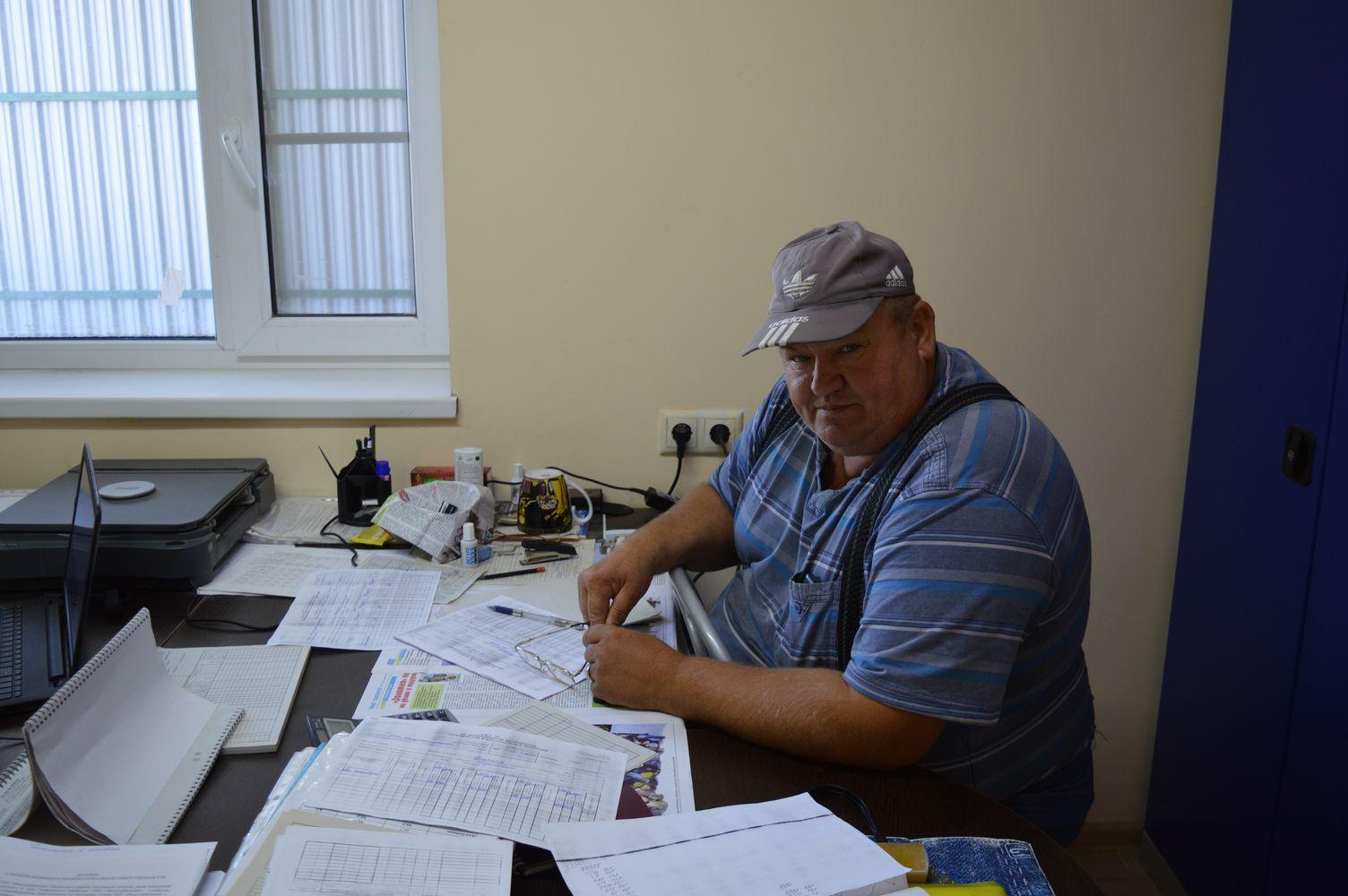 агроном Индустриального отделения Гуляченко Александр Николаевич