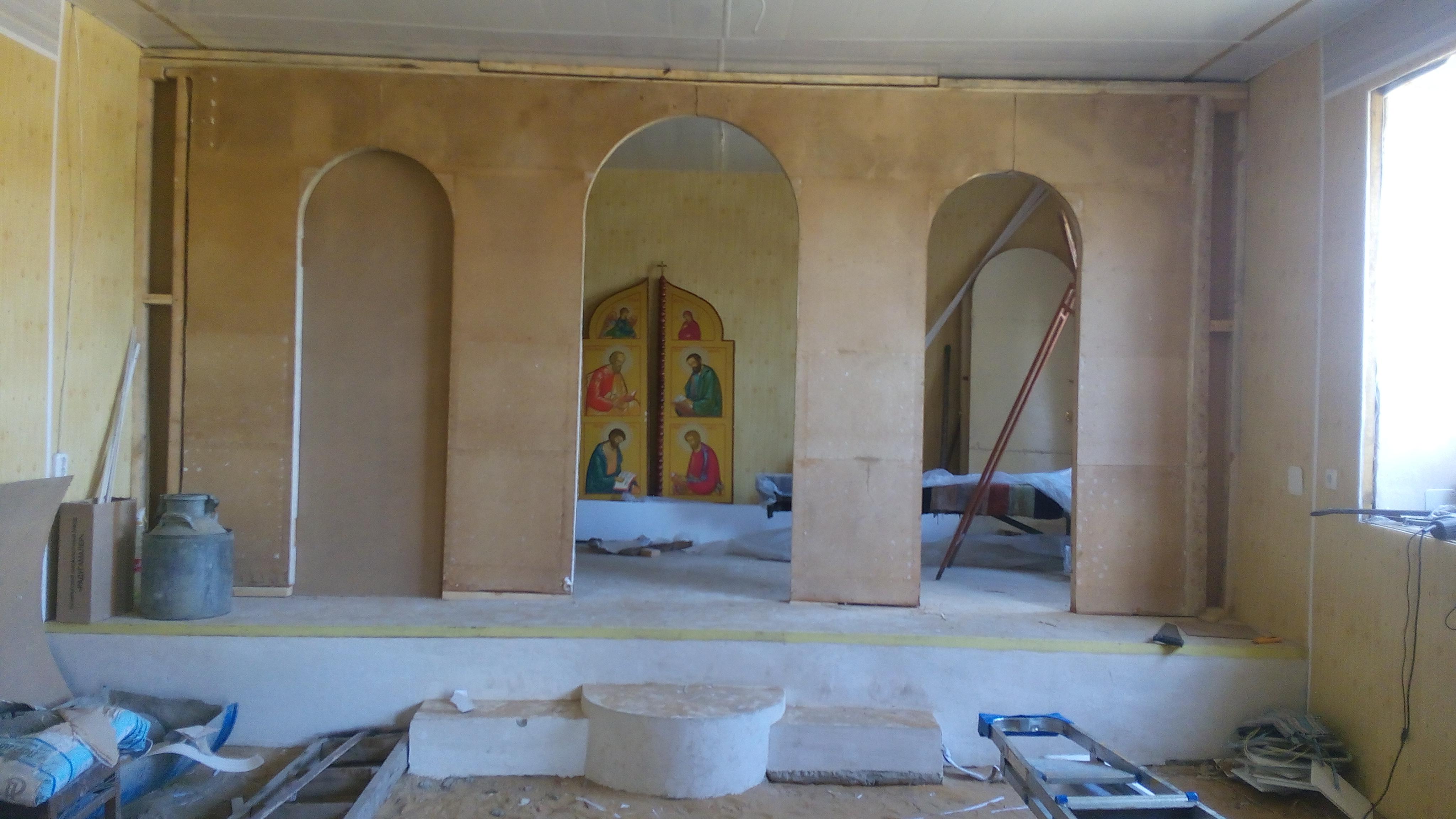 2 помощь в ремонте церкви в селе Кутейниково Чертковского района РО